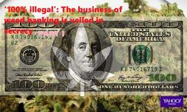 �100% illegal�: The business of weed banking is veiled in secrecy