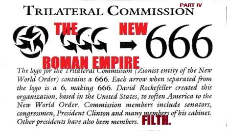 THE NEW ROMAN EMPIRE - TRILATERAL COMMISSION PT4