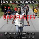 RapeFugees refugees invade europe