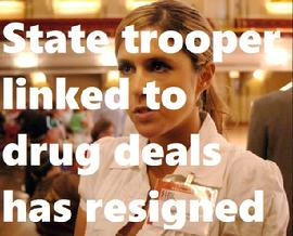 State trooper linked to drug deals has resigned
