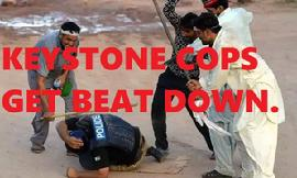 BEAT DOWN OF KEYSTONE COPS