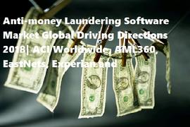 Anti-money Laundering Software Market Global Driving Directions 2018| ACI Worldwide, AML360, EastNets, Experian and