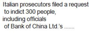 BankOfChina Italian Money Laundering